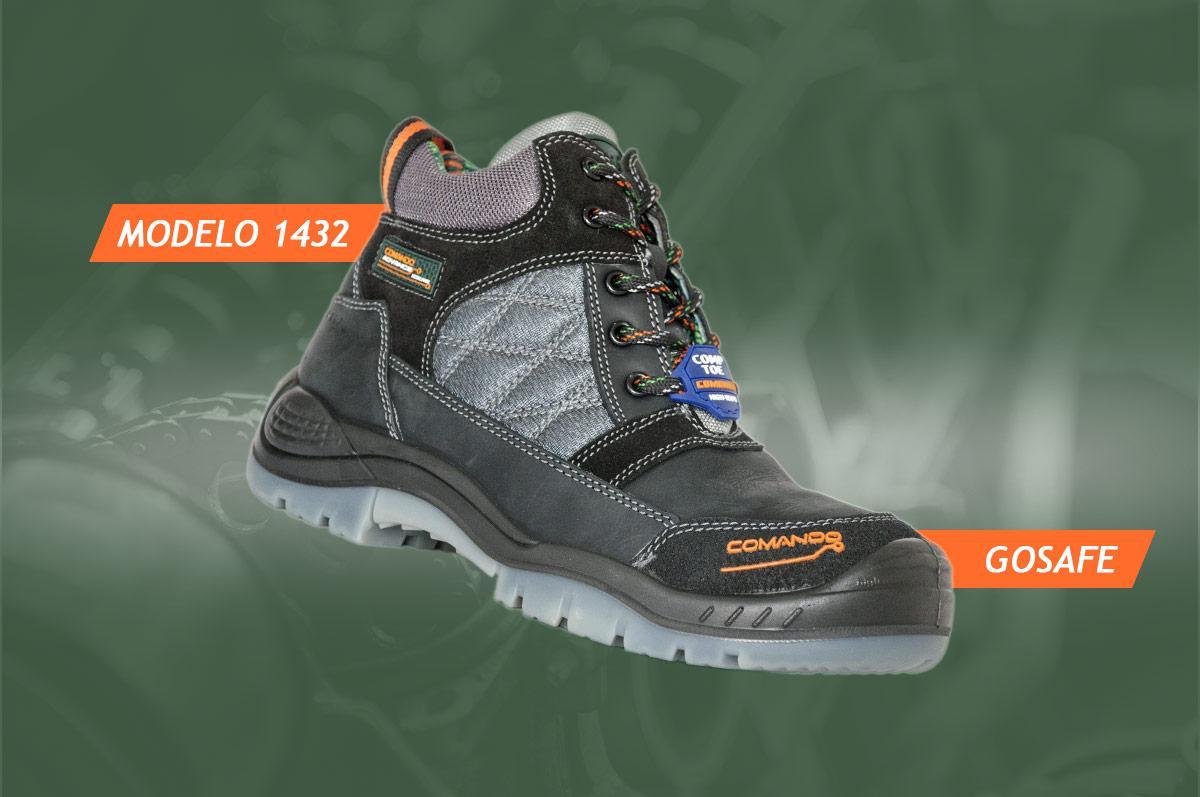 último zapatos genuinos venta directa de fábrica Modelo 1432 Go Safe